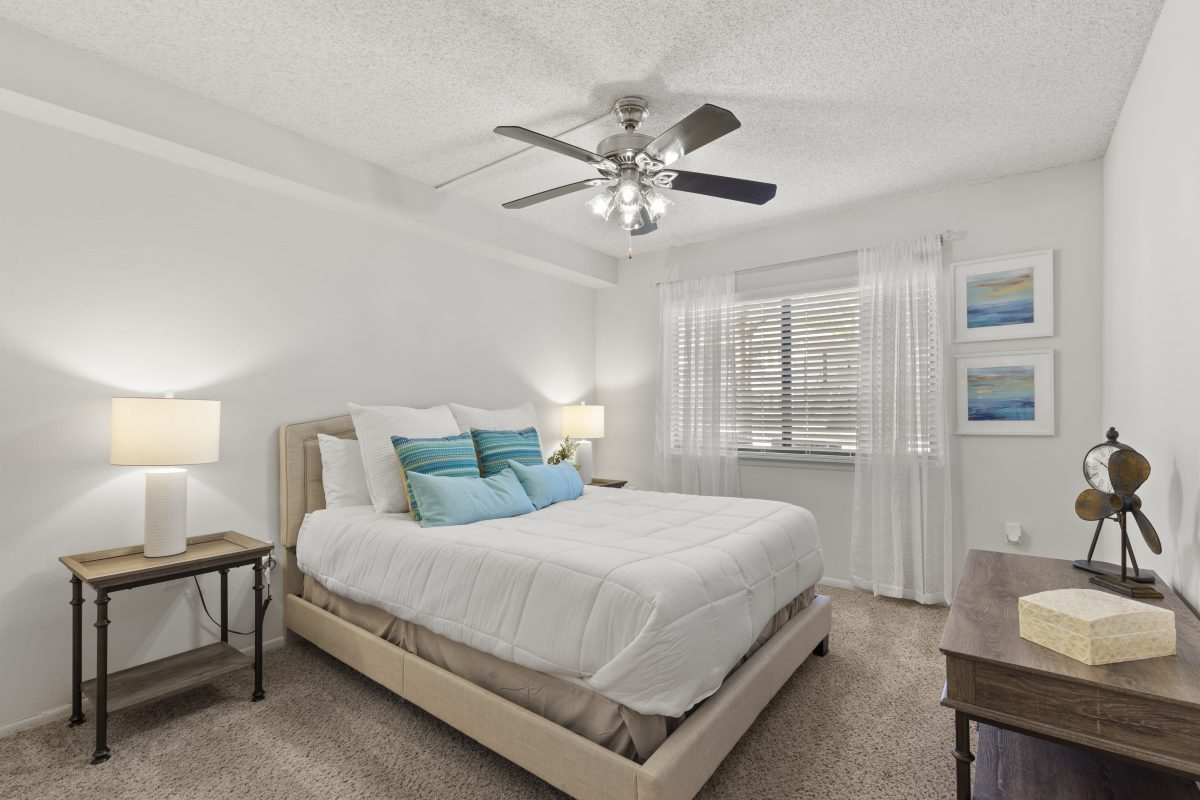 Bedroom virtual staging image