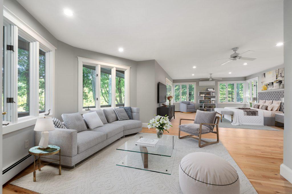 Staging furniture of Living room